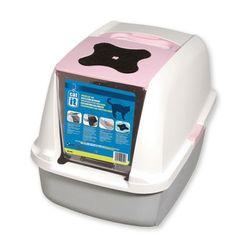 하겐 캣잇 고양이 후드 화장실(핑크)