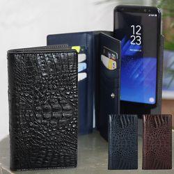 스마트폰 다기종 크로커 지갑 케이스 3color