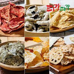 티각태각 대용량250g 김부각 고추부각과자안주간식