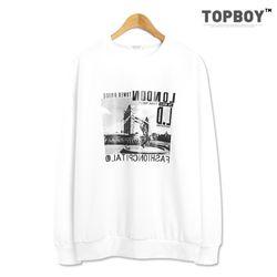 [탑보이] 런던 맨투맨 티셔츠 (TR815)
