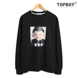 [탑보이] 비니소녀 전사 맨투맨 티셔츠 (TR810)