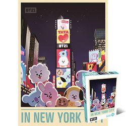 500조각 직소퍼즐 - BT21 - 인 더 뉴욕시티 (DW743053)
