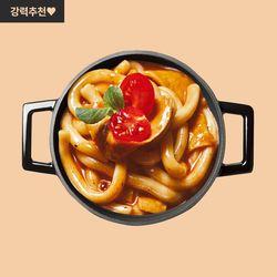 라비퀸 떡볶이 매콤까르보나라맛 세트(치즈사리포함)