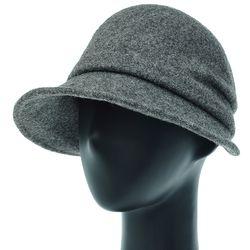 [더그레이]EKU26.펠트 울 볼륨 여성 벙거지 모자