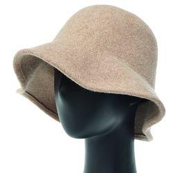 [더그레이]EKU25.펠트 울 여성 벙거지 모자 플로피햇