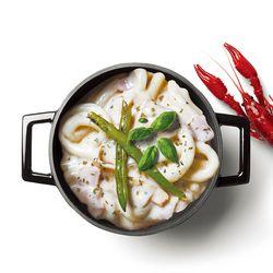 라비퀸 떡볶이 크림랍스터맛 세트(치즈사리포함)