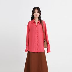 Refined silk blouse (3colors)