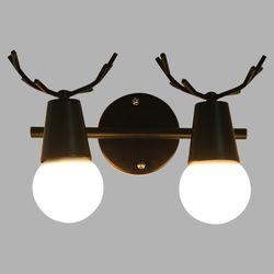 LED 사슴 2등 벽등 실내벽등 실외벽등 인테리어조명