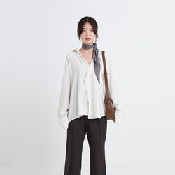 European slik blouse (3colors)
