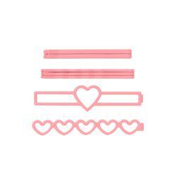 [라템] 러블리 하트 컬러실핀 핑크(AGHP8702HBPP)