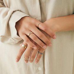 프린지 반지 세트