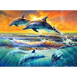 1000조각 직소퍼즐 - 돌고래의 비상 (HP1009)