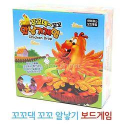 보드게임 - 꼬꼬댁 알낳기 보드게임 (Toy-18)