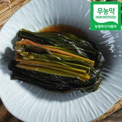 무농약인증 홍천 산마늘 장아찌 500g 명이절임