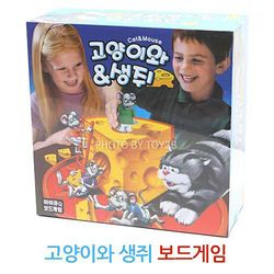 보드게임 - 고양이와 생쥐 보드게임 (Toy-19)