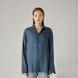 유니섹스 체크 셔츠(EMERALD)