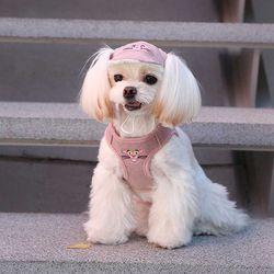 핑크팬더 베스트 하네스-핑크