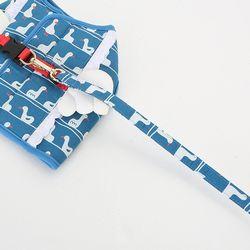 스위밍덕 리드줄-블루