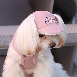 핑크팬더 워싱 캡-핑크