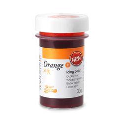 뉴아이싱칼라(식용색소주황Orange) 30g