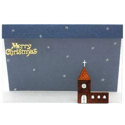 크리스마스투명카드(3인세트)-교회