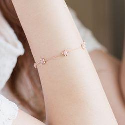 [14k]천연핑크오팔 반지 기념일선물 라넌핑크