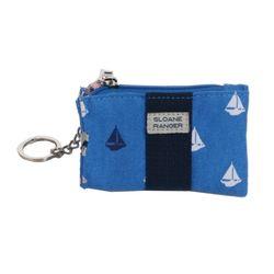 Coin purse 동전 카드 지갑- Sailboat
