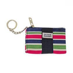 Coin purse 동전 카드 지갑-Sloanie Stripe
