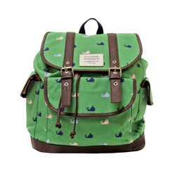 Slouch Backpack - Windsor Whale
