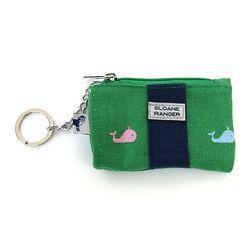 Coin purse 동전 카드 지갑- Windsor Whale