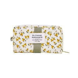 Zip Wallet 지갑 -Yellow Ditzy