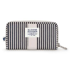 Zip Wallet 지갑 -Denim Stripe