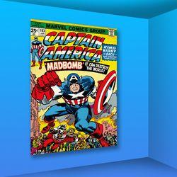 마블 코믹스 인테리어 액자 : 캡틴아메리카193 (대)