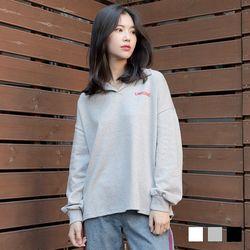 2279 유니 카라 티셔츠 (3colors)