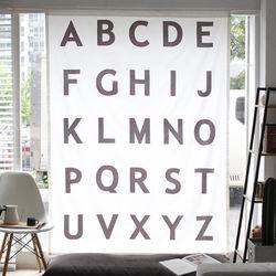 알파벳 커튼(145x200)