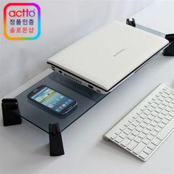 엑토 LCD모니터받침대 강화유리 LDS-03 모니터거치대