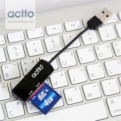 엑토 픽셀카드리더기블랙 CRD-19
