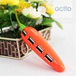 엑토 캐럿USB허브 HUB-23 USB2.0허브