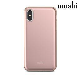 모쉬 아이폰X 아이글레이즈 하드케이스 핑크