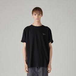 스컬티셔츠(BLACK) L