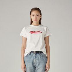 로고 티셔츠(WHITE) S