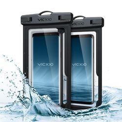 IPX-8등급 스마트폰 핸드폰 휴대폰 방수팩 P1 블랙+블랙