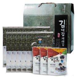 김선물세트 4호 간장김10봉+김자반3봉 추석명절선물