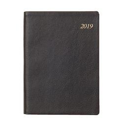 2019년 포켓다이어리 세미 천연 S블랙 데일리 [L240]