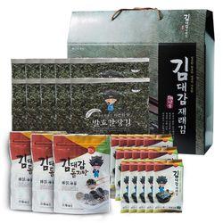 김선물세트 6호 간장김10+김자반3+도시락김15 선물세트
