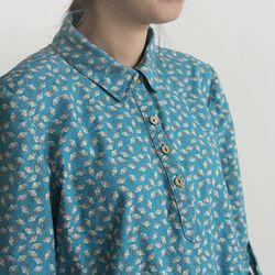[Fabric] A Four O clock Pattern Linen (분꽃 린넨)