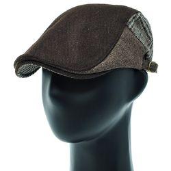 [더그레이]EMH22. 3 칼라 글렌체크 헌팅캡 남성 모자