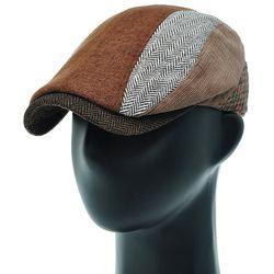 [더그레이]EMH20. 5 패턴 헤링본 헌팅캡 남성 모자