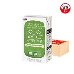DHA 옳은 유기농 우유 120ml 24팩