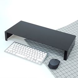 에코프랜 디자인 메탈 모니터 키보드 받침대 심플타입